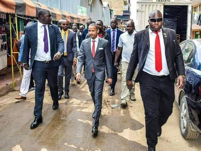 Babu Owino leads ODM Brigade in Kibra Door to Door Vote Hunt